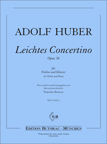 Cover - Leichtes Concertino, op. 36